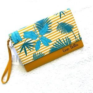 NWT Bizou   Travel Wallet Card, Passeport Holder